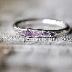 Amethyst Ring // Hidden Gems - Gardens of the Sun Jewelry