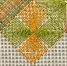 Polski Needlepoint Basic Embroidery Stitches, Hardanger Embroidery, Silk Ribbon Embroidery, Hand Embroidery Designs, Embroidery Techniques, Embroidery Art, Cross Stitch Embroidery, Embroidery Patterns, Stitch Patterns
