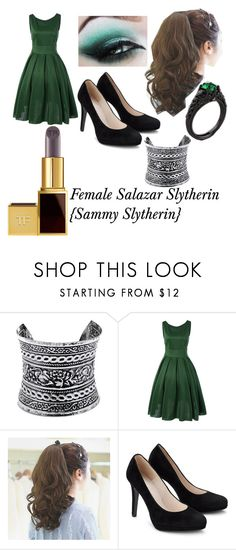 """""""Hogwarts Founder's Salazar Slytherin {Part3}"""" by palyser ❤ liked on Polyvore featuring LULUS and Tom Ford"""