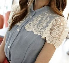 more lace!