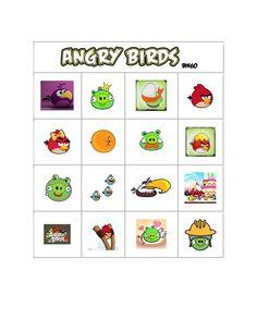 angry birds bingo page 7