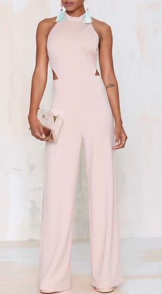 Not a dress fan but still want to look smart? Grab a dressy jumpsuit from Nasty Gal. black and white jumpsuits. Fashion Now, Fashion Beauty, Womens Fashion, Jumpsuit Dressy, Mode Boho, Jumpsuits For Women, Nasty Gal, Dress To Impress, Fashion Forward