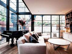 Tour an Artfully Masculine Australian Home via @MyDomaine