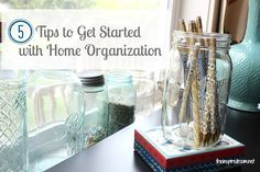 5 Tips to Get Started with Home Organization