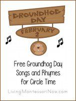 Free Halloween Songs and Rhymes for Circle Time, Kostenlose Halloween-Songs und Reime für Circle Time, Kindergarten Groundhog Day, Groundhog Day Activities, Preschool Kindergarten, Preschool Curriculum, Preschool Music, Preschool Activities, Winter Activities, Feelings Preschool, Pool Activities