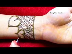 Valentine& Day Special Shaded Heart Mehndi Design for Hands
