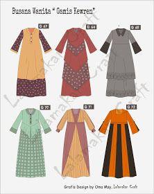 Creativity Tutorial: Pesan Pola Busana Dress Design Patterns, Dress Design Sketches, Baby Dress Design, Fashion Design Sketches, Clothing Patterns, Sewing Patterns, Dress Brokat Muslim, Muslim Dress, Hijab Fashion