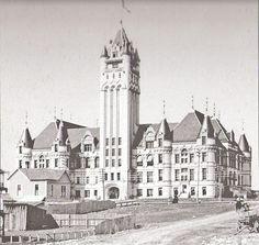 Spokane Courthouse 1890