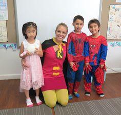 Spirit week - Superheros!