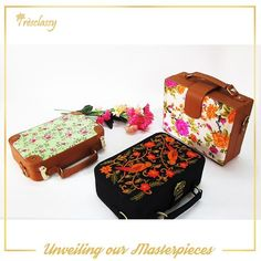 Our Signature hand-carved briefcase slings royal mugual style and floral prints is a must have this festive season.  For more details contact us on 8655432303 #Tresclassy #briefcase #handbags #designer #designerbags #wooden #masterpiece #fashion #shopping #luxury #wooden #threadwork #handicraft #handcrafted #TresclassyPromotions #TresclassyBriefcases #love #like4like