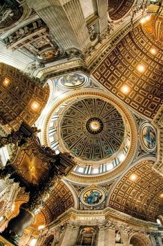 ROME, ITALY - St. Peter's Basilica, Rome.