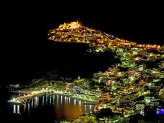 Astypalaia...the night view of this magic place