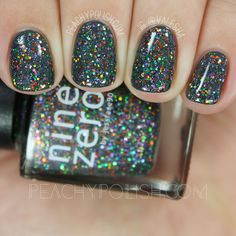 Nine Zero Lacquer The Witching Hour | Halloween 2016 Collection | Peachy Polish