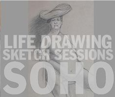 Life Drawing in New York City at Spring Studio-Figure Drawing Classes-Sketch Sessions