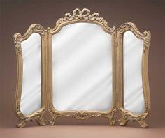 Tri Fold Vanity Mirror 30 Old World Finishes | eBay