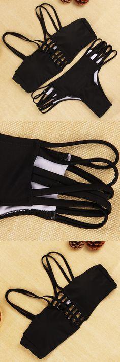 Summer Style Women Bikini 2016 New Fashion swimsuit Sexy Bathing Suit Swimwear Lace Brazilian Bikini Swimwear $12