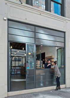 modern exterior restaurant pick up window - Google Search