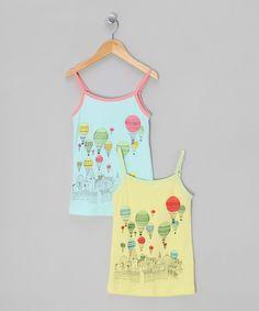 Two Balloon Tanks - Toddler & Girls by MIO my MIO Girls