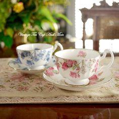 Ansley Elizabethan Rose duo set x2