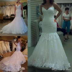 2016 Elegant Vintage Lace Mermaid Wedding Dresses Corset Strapless Pnina Tornai Plus Size Court Train Ruched Pleats Arabic Bridal Gowns