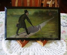 """RARE FIND 1915 Anheuser-Busch Color Lithrograph Medical Advertisement :This Little Picture"""" 10% Discount by BESTBUYONLINES, $385.00"""