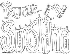 months of the year doodle art coloring pages | adult coloring ... - Friends Quotes Coloring Pages