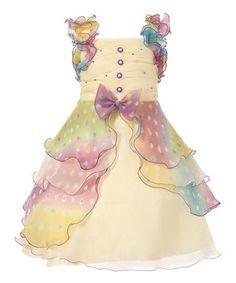 Púrpura en colores pastel con gradas del vestido de la colmena - Chicas