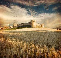 Castillo de Grajal de Campos. LEON. SPAIN.