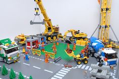 Lego construction site