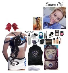 """Cheer Competition -Emma"" by anderson-family1 ❤ liked on Polyvore featuring TheBalm, MAC Cosmetics, Lime Crime, Clé de Peau Beauté, Nouba and NARS Cosmetics"