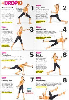 Drop 10 | exercise routine