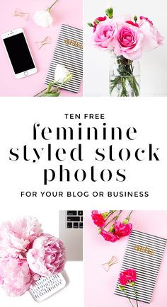 Styled stock photos don't have to be ugly! Download 10 free feminine stock photos for your blog or online business. You can use these as blog post images, social media images, or in other aspects of your marketing. Credit to wonderfelle MEDIA / @wonderfelle is appreciated but not required.