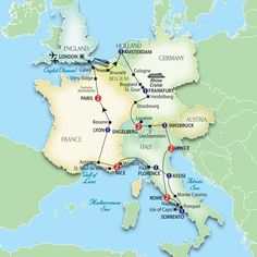 I think this would be a fabulous journey.....Europe Travel#2