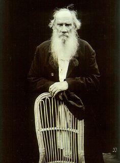 Leo Tolstoi, 1908 by Karl Bulla