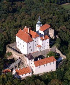 Vysoký Chlumec castle (Central Bohemia), Czechia