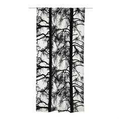 Kelohonka curtain - black-white - Vallila Interior