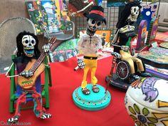 Happy Dia de Los Muertos! Sculptures by Patrick Murillo.
