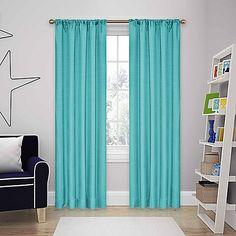 SolarShield® Kate Rod Pocket Room Darkening Window Curtain Panel