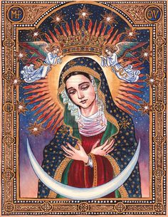 Our Lady of the Gate of Dawn by Theophilia.deviantart.com on @deviantART