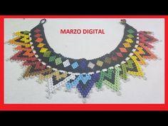 Zulu, Beaded Jewelry, Beaded Necklace, Chrochet, Jewelry Patterns, Beading, Crochet Earrings, Projects To Try, Diy Videos