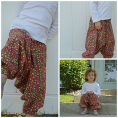 The Hammer pyramid pants come together very quickly, it would take you no longer than half an hour. For pattern instructions go HERE. ...