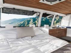 Van Life Bedroom Interior Ideas 80 Trend You Need To Know Vanlife Interiors Rv Camping It Work. Van Life Bedroom Interior Ideas Tour A Chevy Van Turned Into Sleek Tiny Live Work Space Curbed. Cargo Van Conversion, Van Conversion Interior, Camper Van Conversion Diy, Chevy Express, Tiny Mobile House, Mobile Home, Van Living, Living Spaces, Gypsy Living