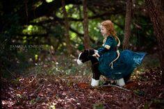 fairytale photography, fable shoot, storybook photo shoot, Brave, princess Merida by Tamara Knight Photography based in Orlando