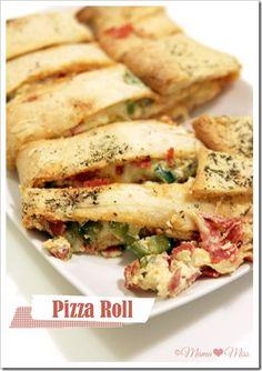 Pizza Roll {mama♥miss} ©2012