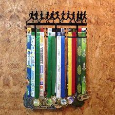 Suporte de parede para medalhas Corrida