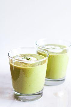 Mango Matcha Smoothie - full of antioxidants!