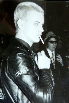 The Dutch Punk scene.