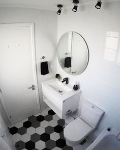 Home Design Decor, House Design, Home Decor, Small Toilet Design, Modern Bathroom Design, Mirror With Lights, Sweet Home, Table, New Homes