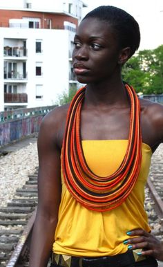 MASAI NECKLACE COLLIER MASAI by UmaJewellery on Etsy
