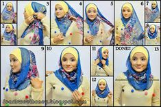 How way of wearing scarf to not too tight in neck area and head? Hijab Bride, Pakistani Wedding Dresses, Wedding Hijab, Pashmina Hijab Tutorial, Tutorial Hijab, Turban Hijab, Leopard Fashion, Hijab Fashion Inspiration, Turban Style